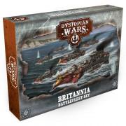 Dystopian Wars: Britannia Battlefleet Set