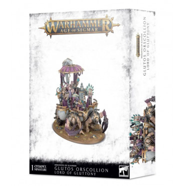 Age of Sigmar : Hedonites of Slaanesh - Glutos Orscollion, Lord of Gluttony