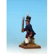 Mousquets & Tomahawks : Officier Américain Guerre de 1812
