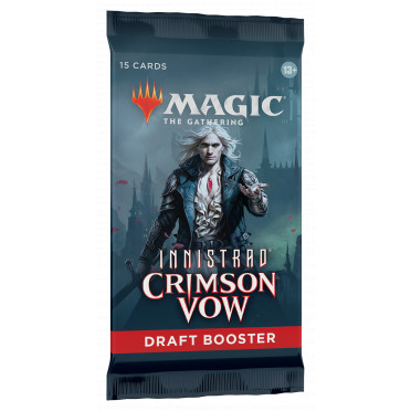 Magic The Gathering : Crimson Vow - Draft Booster