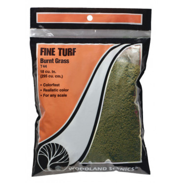 Woodland Scenics - Fine Turf Burnt Grass Bag