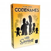 Boite de Codenames - The Simpsons Family Edition