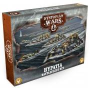 Dystopian Wars: Hypatia Battlefleet Set